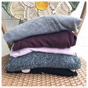 Loft 5 Piece Lightweight Sweater Bundle Size M/L